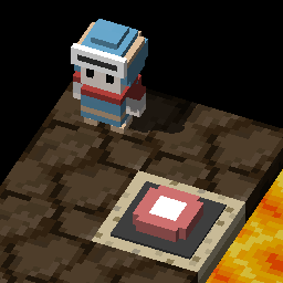 Lava, buttons and boxes