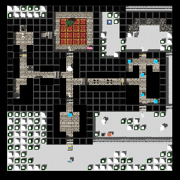Level 1-4 orcs dungeon of snow.